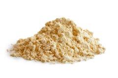 Montão da farinha do grão-de-bico foto de stock
