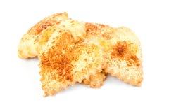 Montão dado forma coração das cookies de açúcar Fotografia de Stock Royalty Free