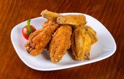 Montão das asas de galinha foto de stock royalty free