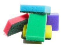 Montão das esponjas Fotografia de Stock