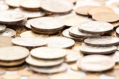 Montão das moedas imagens de stock royalty free