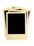 Montão de cartões retros da foto Foto de Stock Royalty Free