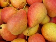 Montão de peras frescas Fotos de Stock Royalty Free