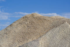 Montão do cascalho Fotografia de Stock