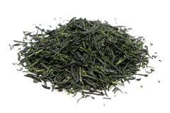 Montão do chá verde japonês fotografia de stock