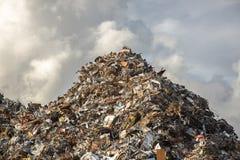 Montão do ferro de sucata Imagem de Stock