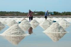 Montão do sal do mar Fotografia de Stock Royalty Free