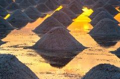 Montão do sal do mar Fotos de Stock Royalty Free