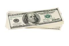 Montão dos dólares Imagens de Stock