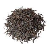 Montão exclusivo do chá de Dimbula isolado no branco fotos de stock
