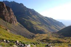 Montée de montagne images libres de droits