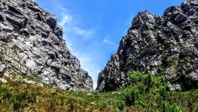 Montée de montagne de Tableau Image libre de droits