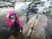 Montée du mont Kinabalu Images libres de droits
