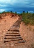 Montée dunaire photographie stock