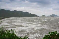 Montée subite de tempête Image stock