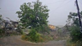 Montée subite de tempête de cyclone, clips vidéos