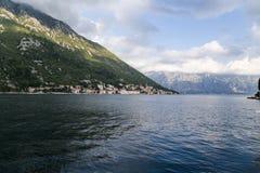Monténégro. Baie de Kotor Images libres de droits