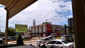 Monténégro, Budva, intersection au remblai, temps-faute banque de vidéos