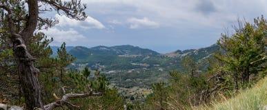 Monténégro, montagnes, panorama Photographie stock