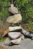 Montón artificial de piedras fotos de archivo