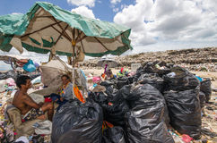 Montón de basura grande Fotografía de archivo