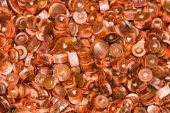 Montón de chatarra del cobre fotografía de archivo libre de regalías