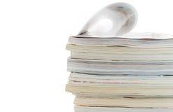 Montón de compartimientos Imágenes de archivo libres de regalías