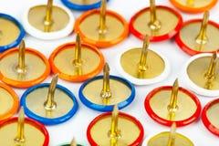 Montón de contactos multicolores foto de archivo libre de regalías