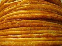 Montón de crepes Imagen de archivo libre de regalías