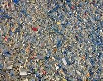 Montón de cristal de los escombros, pullution del ambiente, tensión, Imágenes de archivo libres de regalías