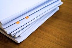Montón de documentos Imagenes de archivo