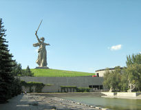 Montón de entierro de Mamaev Imagen de archivo