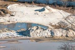 Montón de la arena Fotos de archivo