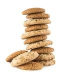 Montón de la galleta de las semillas Foto de archivo