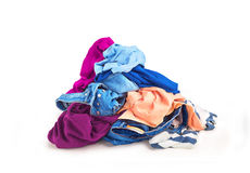 Montón de la ropa Foto de archivo