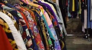 Montón de la ropa del vintage imágenes de archivo libres de regalías