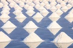 Montón de la sal del mar fotografía de archivo