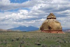 Montón de la termita Fotos de archivo