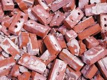 Montón de ladrillos Foto de archivo