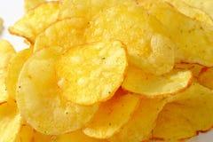 Montón de las patatas fritas imagen de archivo libre de regalías