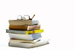 Montón de libros Foto de archivo