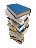 Montón de libros Fotos de archivo