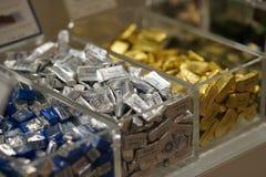 Montón de los chocolates de Venchi Imagen de archivo