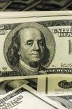 Montón de los dólares 1 Fotografía de archivo