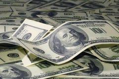 Montón de los dólares 6 Imagen de archivo