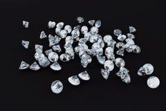 Montón de los diamantes Imagen de archivo libre de regalías