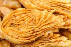 Montón de los dulces del baklava los dulces del baklava se cierran para arriba Foto de archivo libre de regalías