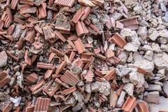 Montón de los escombros fotos de archivo libres de regalías