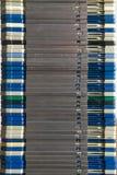 Montón del disquetes Foto de archivo libre de regalías