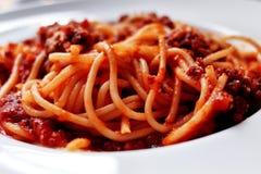Montón del espagueti Foto de archivo